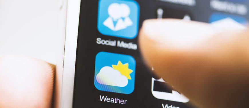 3 app per essere sempre aggiornati sul meteo