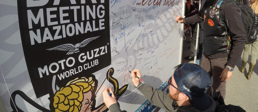 Mondo Moto Guzzi a Bari: The Clan c'era! E tu?