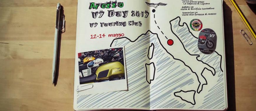 Reisetagebuch, zweite Etappe: V7 Day 2017 in Arezzo