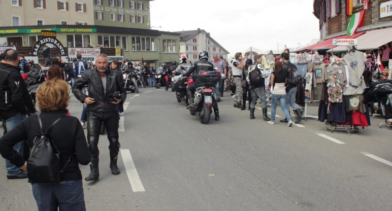 The Clan at the 41st Stelvio International Rally