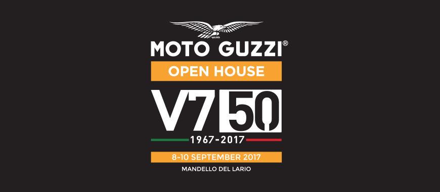 Dall'8 al 10 settembre: Moto Guzzi Open House festeggia i 50 anni di V7