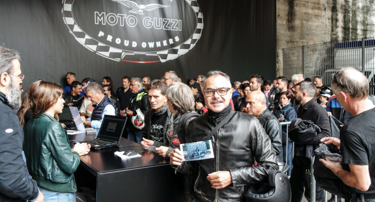 15,000 fans at the Moto Guzzi Open House 2017: the story of The Clan