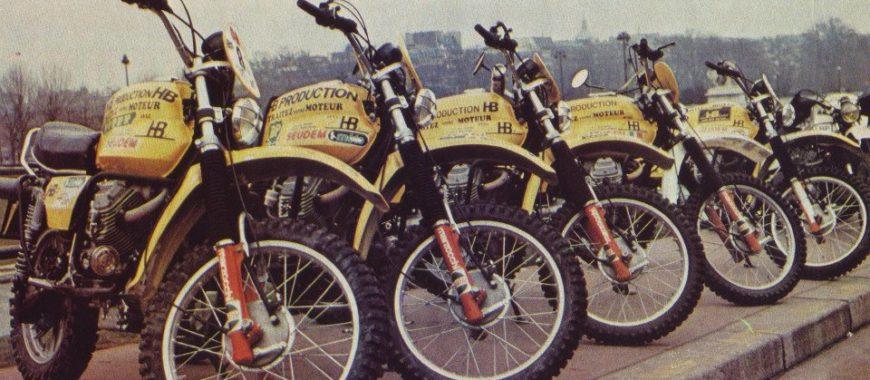Moto Guzzi e la Parigi Dakar: i francesi e la prima edizione del 1979