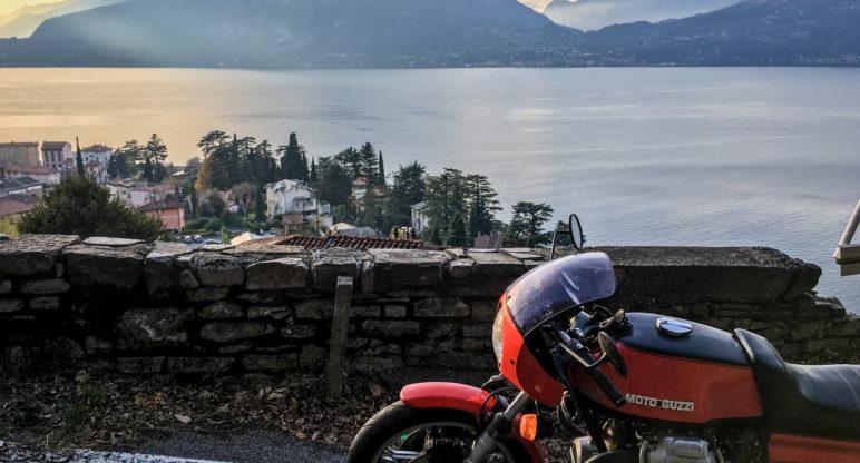 Glimpses of Lake Lario: from Mandello to La Grigna on an 850 Le Mans