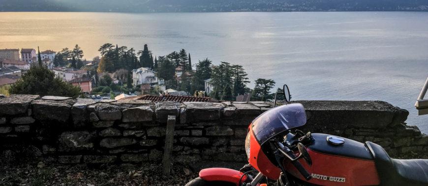 Bilder und Impressionen vom Comer See: Mandello, Grigna und eine 850 Le Mans
