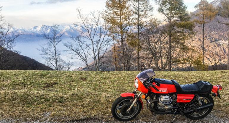 Scorci del Lario: tra Mandello e La Grigna in 850 Le Mans