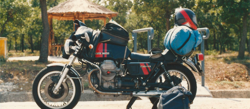 Journey in Italy on a 750-S3. The Guzzi of a lifetime