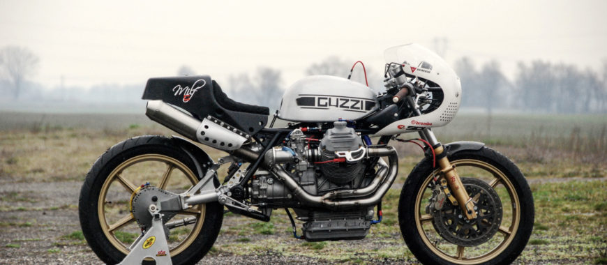 "The Moto Guzzi ""Milf"" special: interview with Paolo Danese"