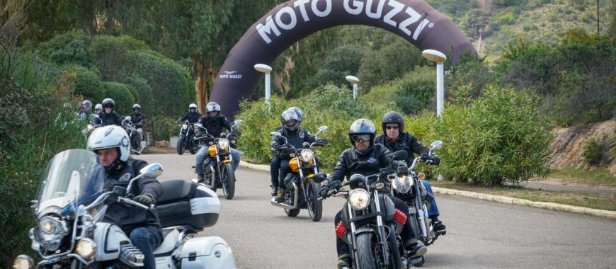 Reportage de la 4th Moto Guzzi Experience – Is Molas edition
