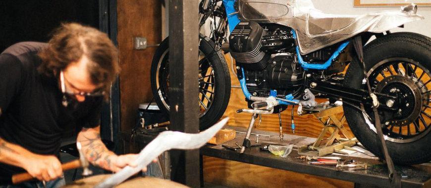 V9 Custom Builder: Moto Guzzi special made in USA
