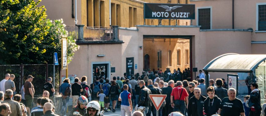 In 30.000 a Mandello! Open House 2018 raccontato da The Clan
