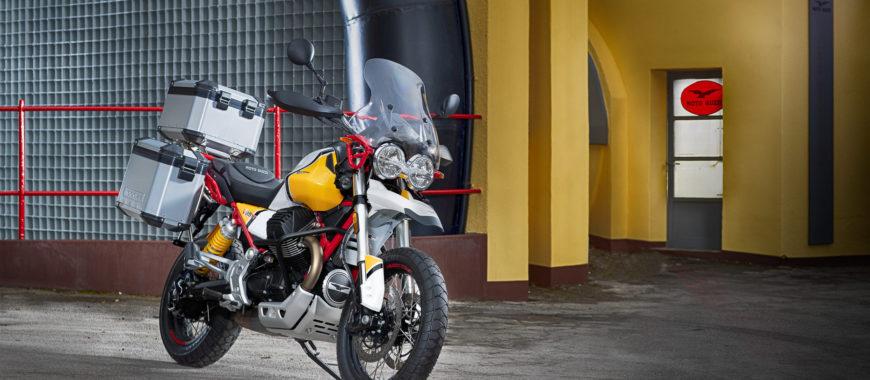 Das Moto Guzzi V85 TT Zubehörprogramm – Bereite dich für deine Abenteuer vor!