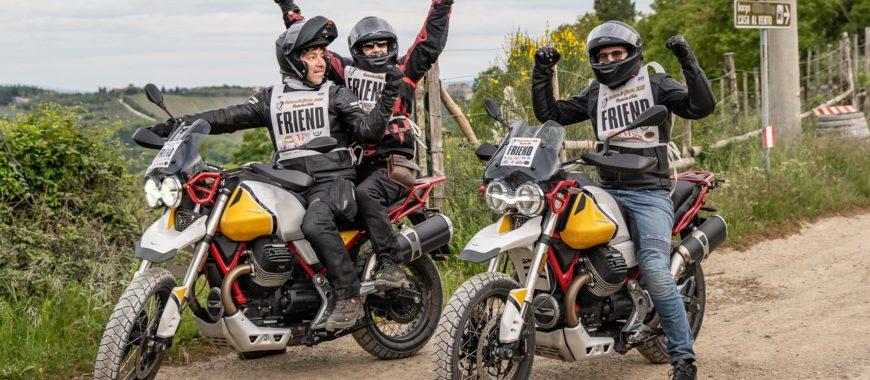 """Helden auf Motorrädern: The Clan und die V85 TT bei der """"Polvere & Gloria"""" 2019"""