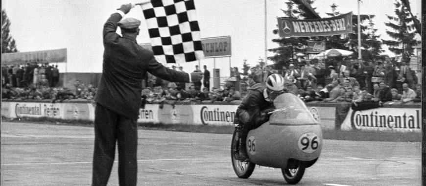 The 1st MotoGP World Championship was held 70 years ago, and Eagles are a part of that history