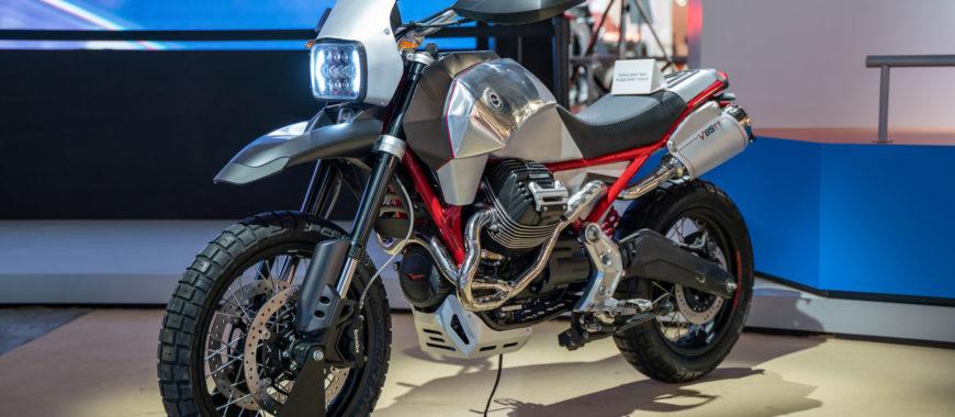 """Orizzonte"": Die V85 TT à la Officine Rossopuro (EICMA 2019)"
